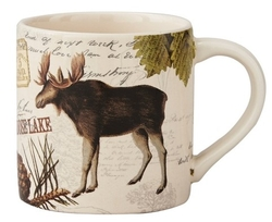 Wildlife Trail Moose Coffee Mug