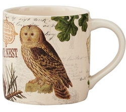 Wildlife Trail Owl Coffee Mug