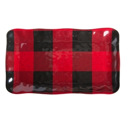 Buffalo Plaid Rectangular Tray - NEW!!!!