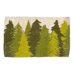 Woodland and Trees Door Mat