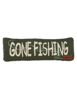 Gone Fishing Hooked Pillow - 8