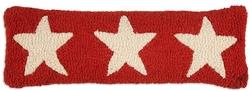 Three Red Stars Pillow - 8