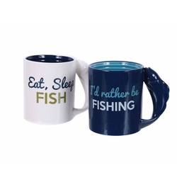 Fishing Handle Mug - 2 Options