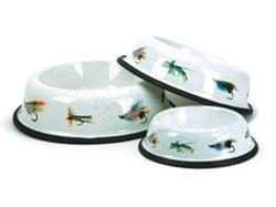 Fly Fishing Medium Pet Dish