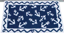 Anchor Indoor/Outdoor Welcome Rug