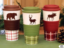 Woodland Silicone Insulated Tumbler - 3 Options