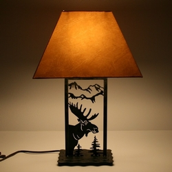 Moose Die-Cut Lamp - 21.5H
