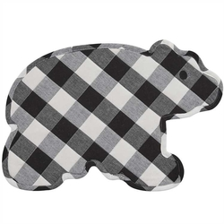 Wicklow Bear Placemat-Black & Cream