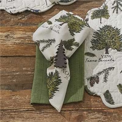 Fir Tree Napkin - Set of 2