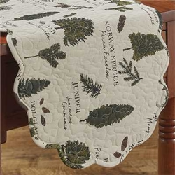 Fir Tree Table Runner - 13