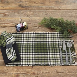 Juniper Plaid Placemat - Set of 2