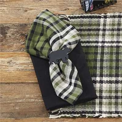 Juniper Plaid Napkins - Set of 2