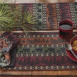 Mountain Bear Placemat - Set of 2