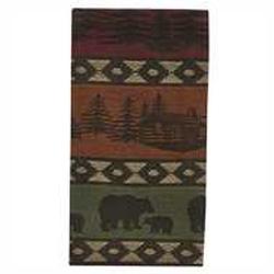 Mountain Bear Napkins - Set of 2