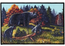 Black Bear Lodge Rug