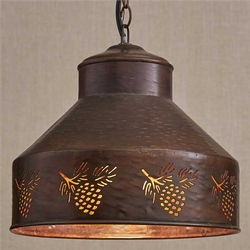 Spruce Creek Pinecone Pendant Light