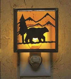 Lodge Bear Night Light