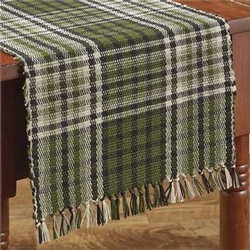 Juniper Plaid Table Runner 13