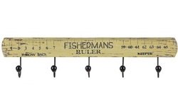 Fisherman's Ruler Wall Hooks