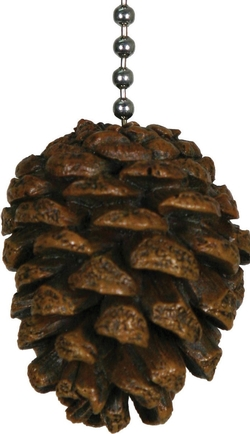 Pinecone Fan Pull