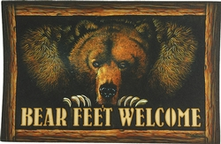 Bear Feet Indoor/Outdoor Mat