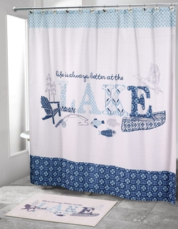 Lake Life Shower Curtain