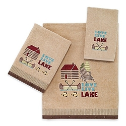 Live Love Lake Towel Set - Bath and Hand