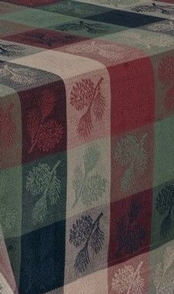 Pine Ridge Pinecone Table Runner - Two Options