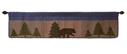 Bear Ridge & Basket Valance