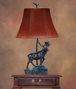 Moose Accent Lamp