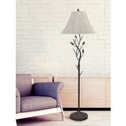 Bouquet of Leaves Floor Lamp