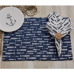 Minnows Placemat - Set of 2