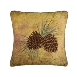 Wood Patch Quilt Pillow
