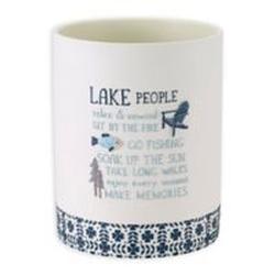 Lake Life Waste Basket