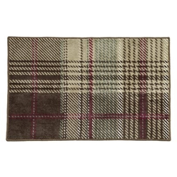 Huntsman Plaid Bath Rug