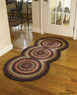 Folk Art Braided Runner Rug