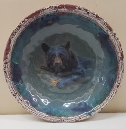 Bear Round Bowl - Large
