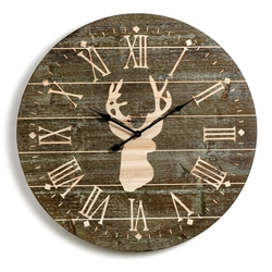 Whitetail Wall Clock