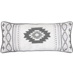 Free Spirit Pillow with Crewel Embroidery