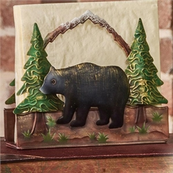 Wilderness Bear Napkin Holder