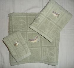 Personalized Towel Set - Duck