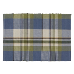 Lake House Plaid Placemat - Set of 2