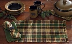 Scotch Pine Chindi Placemat - Set of 2