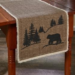Bear Scene Table Runner - 2 sizes