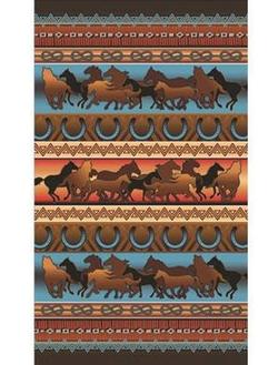 Wild Horses Oversized Towel