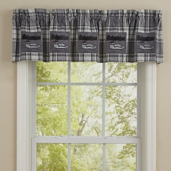 Loon Gray Lined Valance - 60