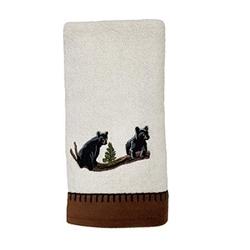 Black Bear Lodge Towel Set - Bath & Hand