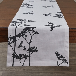 Queens Anne's Lace Printed Runner