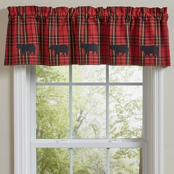 Sportsman Plaid Lined Valance