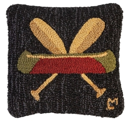 Canoe and Cross Paddle Pillow